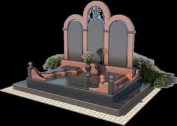 Изготовление надгробных памятников из карельского гранита